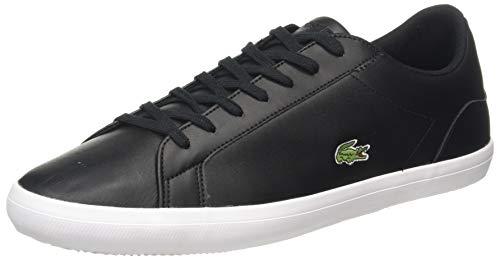 Lacoste Herren Lerond BL 1 CAM Sneaker, Black, 40 EU