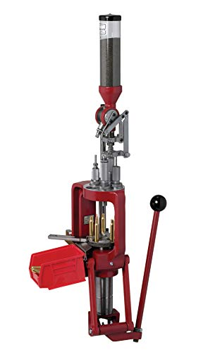 Hornady Lock-N-Load AP Press Loader – Ammunition Reloading Press with Quick Change Lock-N-Load Bushing System, EZ-JECT System and Powder Measure – Enjoy Fast and Reliable Reloading – Item 095100