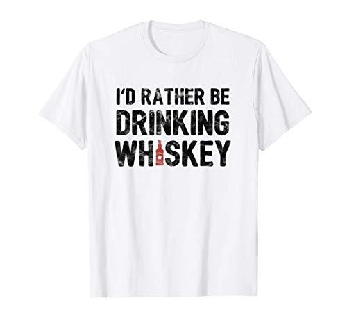 Prefiero beber whisky de centeno o de malta Camiseta