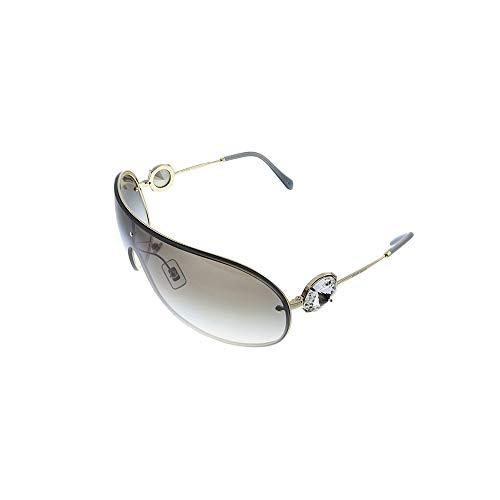 Miu Miu Damen 0MU 67US Sonnenbrille, Oro Pálido, 37