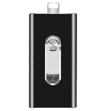 Pendrives OTG 3 en 1 compatible con iPhone USB 3.0 de alta...