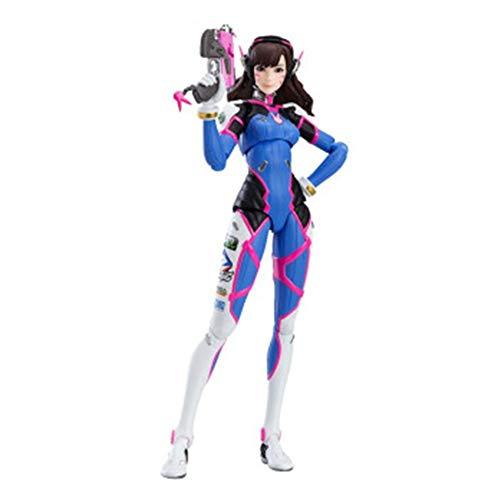 NHP D.va Watch Pioneer Figur, Boutique-Modell des Overwatch Pioneer Charakters, Spielzubehör