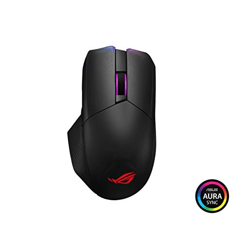 ASUS ROG Chakram Wireless Aura Sync RGB Gaming Mouse