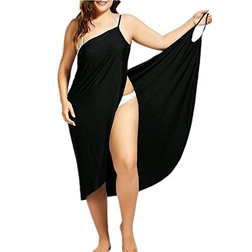 TTCI-RR Body Towel Wrap Mujeres Vestido de playa Sexy Sling Wear Vestido Sarong Bilini cubrir Warp Pareo Vestidos sin espalda Traje de baño usable