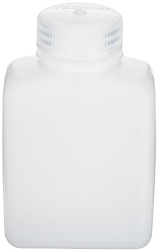 Nalgene Aufbewahrungsdosen Weithalsflaschen, rechteckig, Transparent, One size