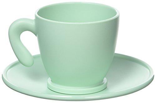 Guzzini Zaza Tasses à café, Acrylique, Vert, 0.1 x 0.1 x 0.1 cm