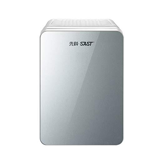 Mini refrigerador de Doble Uso para el hogar/automóvil de 10 litros, energía Dual fría y Caliente, Encendedor de 12 voltios, automóvil, hogar Privado, Oficina y Dormitorio Salida de 230 voltios
