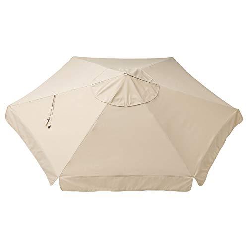 Vårholmen Sonnenschirm Überdachung Ø300 cm beige
