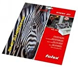 Folex StickyJet, Inkjetfolie selbstklebend transparent, DINA4 50Blatt