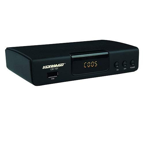 Big Save! KORAMZI HDTV Digital TV Converter Box ATSC with USB Input for Recording and Media Player C...