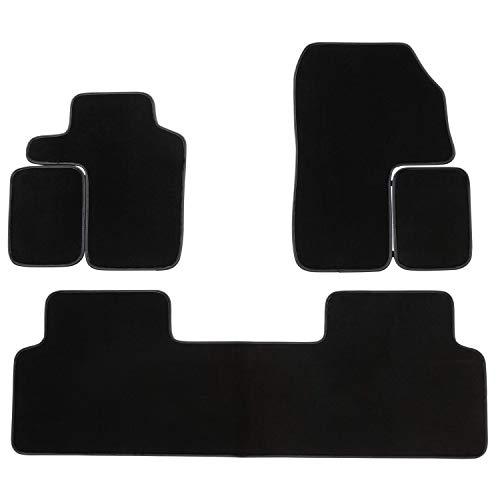 DBS Tapis de Voiture - sur Mesure pour Scenic 2 (2003-2009) - 3 pièces - Tapis de Sol antidérapant pour Automobile - Moquette Premium