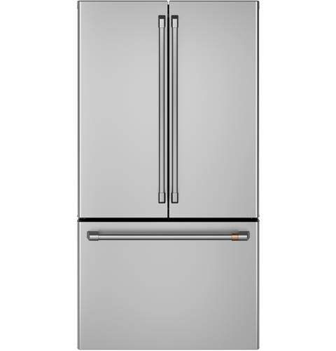 Price comparison product image Ge Cafe CWE23SP2MS1 Matte Collection Series 36 Inch Counter Depth French Door Refrigerator