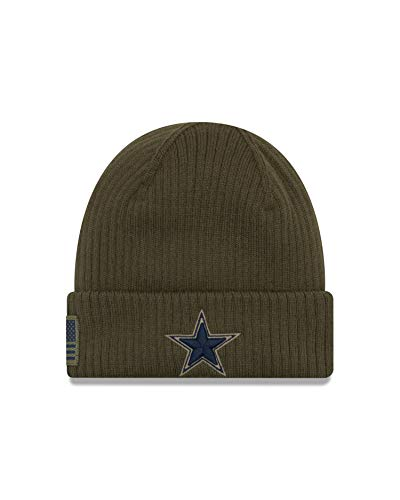 NFL Dallas Cowboys Mens Salute To Service Sideline Knit, Heather, One Size