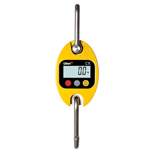 Gram Dinamómetro Digital Báscula Industrial Balanza Electrónica CR-150S (150 kg / 50 g)