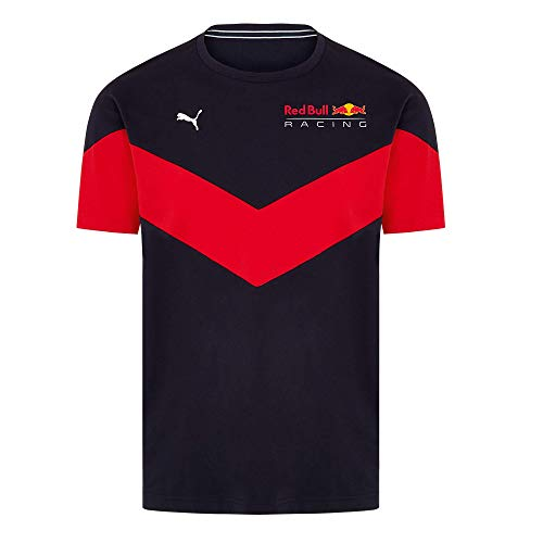 PUMA Red Bull Racing MCS Camiseta, Hombres Medium - Original Merchandise