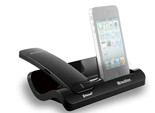 Geemarc I450 Black - Design dockingstation voor de i-Phone serie (3 tot 4S) met Bluetooth headset
