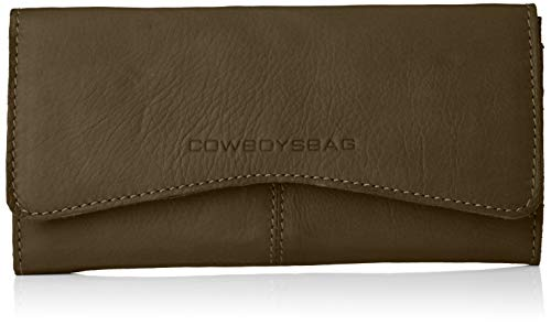 Cowboysbag Damen Purse Bow Kreditkartenhülle, Grün (Hunter Green), 2x9,5x19 cm