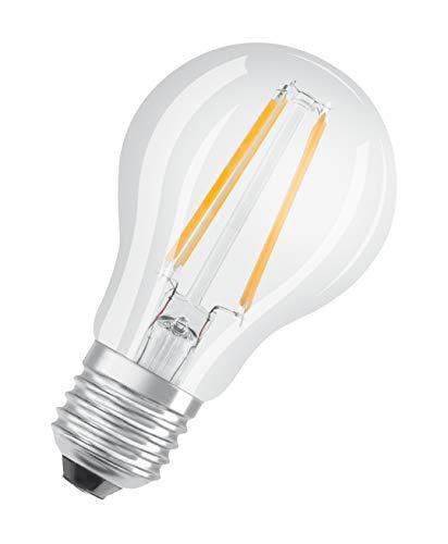 OSRAM Goccia Lampadine LED, 4 W Equivalenti 40 W, Attacco E27, Luce Calda 2700K, Confezione da 10 Pezzi