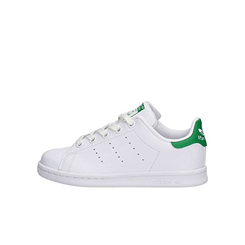 adidas Stan Smith, Zapatillas Unisex Niños, Blanco (Footwea