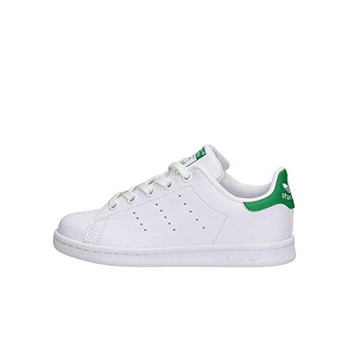 adidas Stan Smith, Zapatillas Unisex Niños, Blanco (Footwea