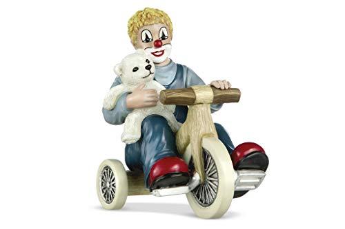 Gildeclown Figur Teddy on Tour 12cm Eine wunderbare Geschenkidee für Familie und Freunde