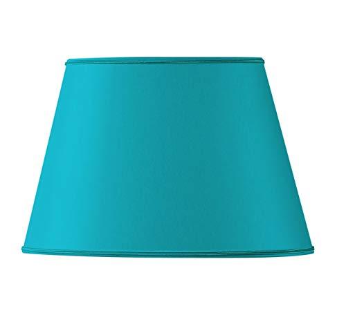 HUGUES RAMBERT 3760151506024 - Pantalla para lámpara, color turquesa
