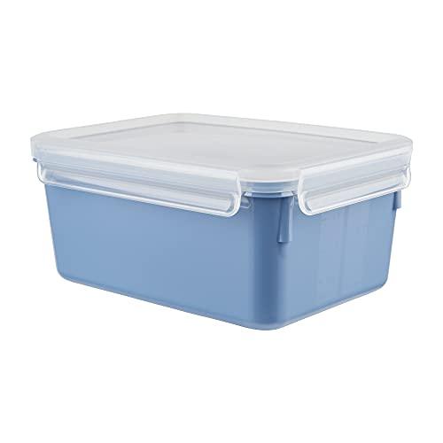 Emsa N10128 Clip & Close Color Edition Frischhaltedose   2,2 Liter   100% auslaufsicher/hygienisch   BPA-frei   spülmaschinen-, mikrowellen- und gefriergeeignet   made in Germany   Aqua Blau