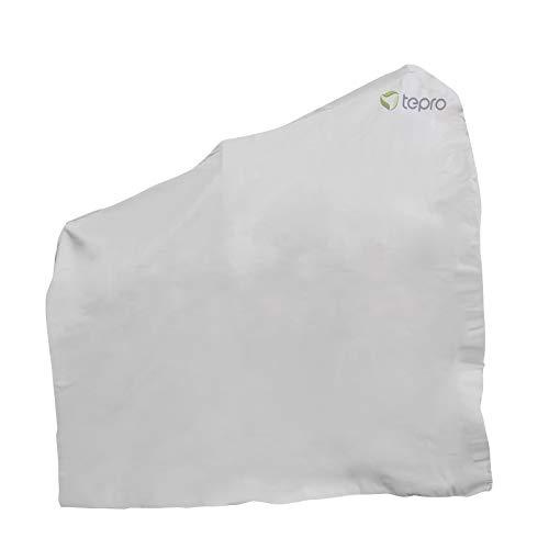 Tepro Universal Abdeckhaube 8607 für Smoker mittel, 125,7x73,7x119,4cm, beige | passend für tepro 1087, 1094H