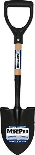 Seymour 49351 24' Round Point Shovel With Poly D-Grip Handle