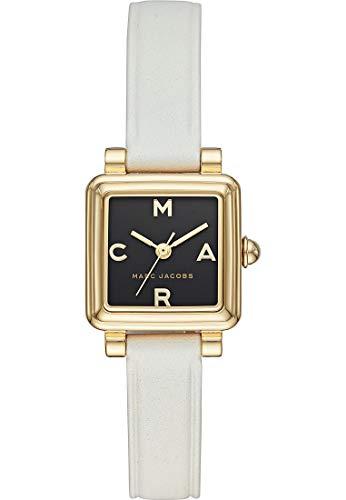 Marc Jacobs Damen-Uhren Analog Quarz One Size Weiß Leder 32002834
