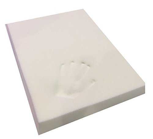 Memory Foam Off-Cut for Dog Beds and Cushions Certified Foam Supportive, Pressure Relief Temperature Sensitive & Pain Relief (STANDARD 24' X 36' X 3')