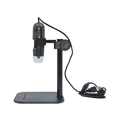 microscopio electrónico de barrido (SEM) de banda portátil usb medir fotos digitales microscopio de vídeo 600 veces , dark brown
