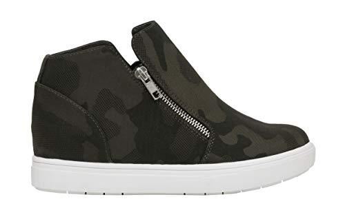 CUSHIONAIRE Women's Hart Hidden Wedge Sneaker +Wide Width Available