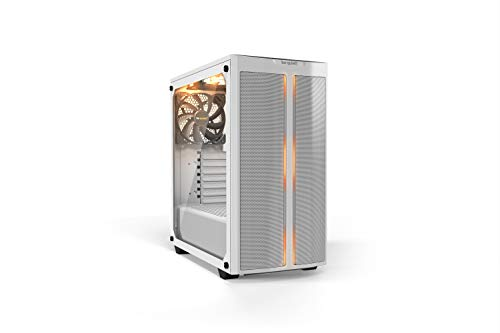 be quiet! Pure Base 500DX White, Mid Tower ATX case, ARGB, 3 pre-installed Pure Wings 2, BGW38, tempered glass window
