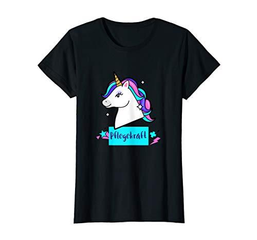 Damen Pflege Einhorn Unicorn Süß Witzig Geschenk