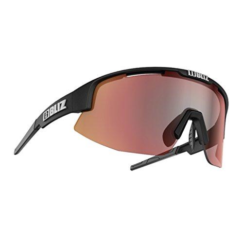 Bliz Matrix M12 Brille matt Black/Brown with red Multi 2020 Sonnenbrille