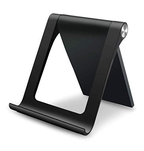Wooshop Soporte Tablet, Multiángulo Soporte Base Ajustable Portátil para Tablets 3 a 11 Pulgadas como iPad Pro, iPad Mini, Lenovo TAB4 10, Huawei Media Pad, Xiaomi A2, Mi 8 Lite, Samsung Galaxy Tab