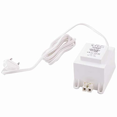 Sicherheitstransformator 30-40W 12V AC inkl 15m Anschlusskabel +