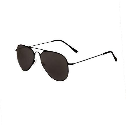 HQMGLASSES 2019 Neue Herren-Lesebrille, ultraleichte Pilotenbrille mit HD-Harzspiegel, geeignet zum Angeln/Fahren von +1,0 bis +3,0,Schwarz,+1.5