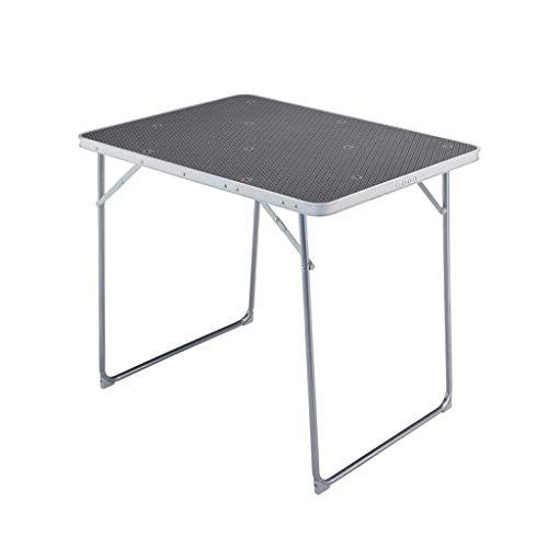 ALIPC Outdoor Folding Table Portable Split Folding Table Aluminum Picnic Barbecue Table Portable Folding Table Garden Table 4 People Table