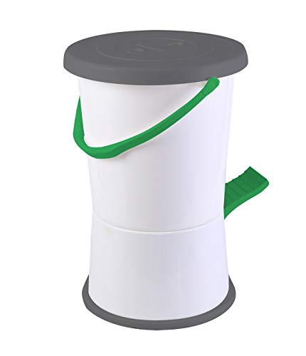 Bo-Camp wasmachine, wit/groen/grijs
