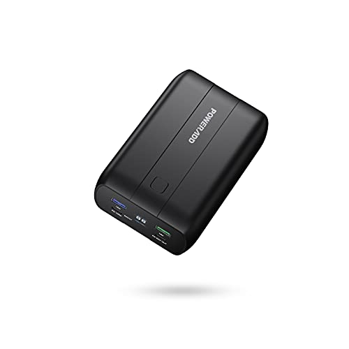 Portable Charger 26800mAh, 100W Power Delivery Power Bank with Dual USB-C (100W&60W), QC 3.0 External Battery Compatible with iPhone, USB-C Laptops, MacBook, Tablets, Samsung and More