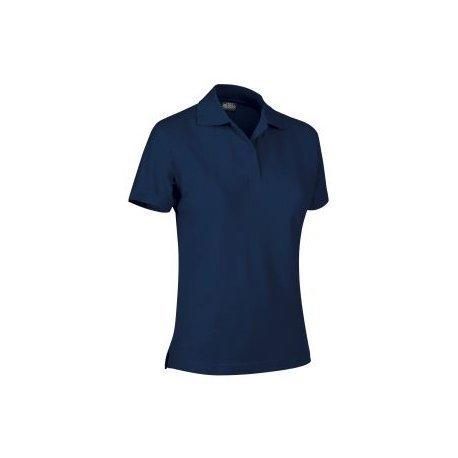 Tucuman Aventura - Polo m/Short Femme (Bleu Marine, L)
