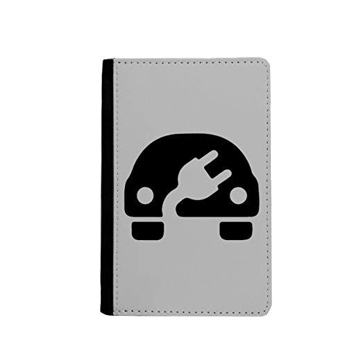 beatChong Plus-Minus-Zeichen Energie Fahrzeuge Umwelt-Pass-Halter Travel Wallet Abdeckungs-Fall Karten-Geldbeutel schützen