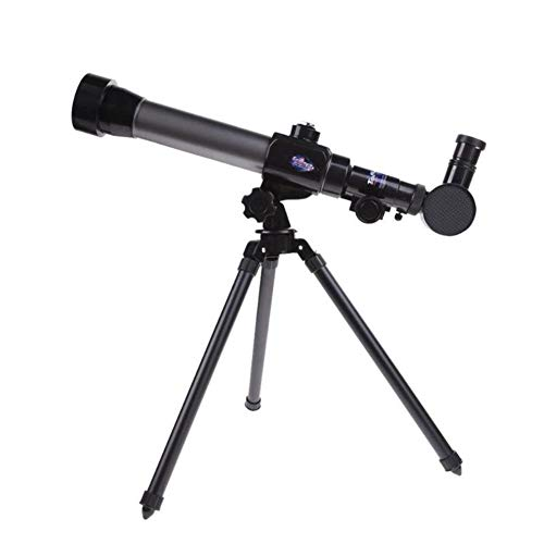 WYL 20x 30x 40x Refractor Astronomical Telescope for Children Microscope Combo with Tripod Support Large Objective Lens