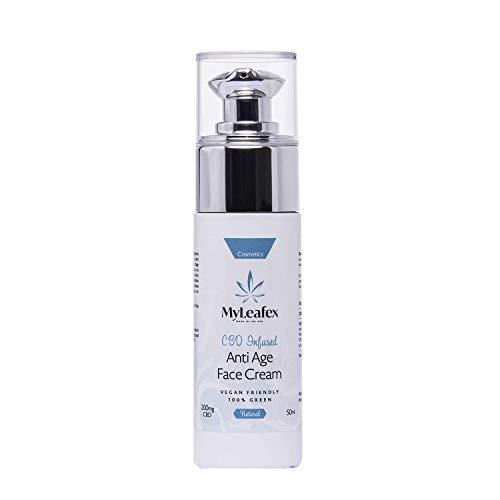 MyLeafex Anti-Ageing CBD Infused Face Cream 50ml - 200mg CBD