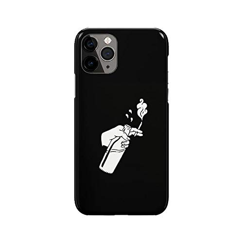Desconocido iPhone 11 Pro MAX Case, Cartoon Cigarette Bottle DP210 Case For iPhone 11 Pro MAX Protective Phone Cover, Abstract Funny Gorgeous [Double-Layer, Hard PC + Silicone, Drop Tested]