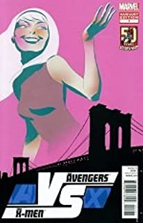 Avengers versus X-Men #1 of 6 / Rare Amazing Spider-Man 50th Anniversary Variant Cover (AVX / Versus Series) (2012) Thing vs Namor