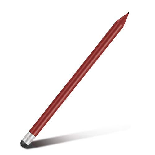 Ausla Lápiz óptico, bolígrafos para Tableta para Pantalla táctil Lápiz óptico Capacitivo Resistente para Tableta, lápiz óptico para Tableta, para teléfonos Inteligentes para tabletas(Red)