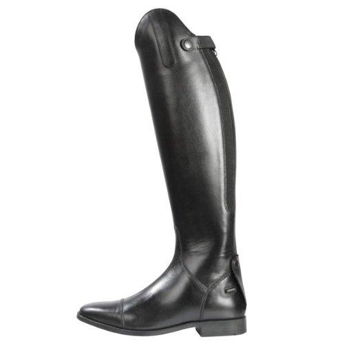 Pfiff Lederstiefel -Romont-, hochwertiger Reit-Stiefel aus Leder in schwarz, Normalschaft (NS) und Weitschaft (WS), 36 bis 53
